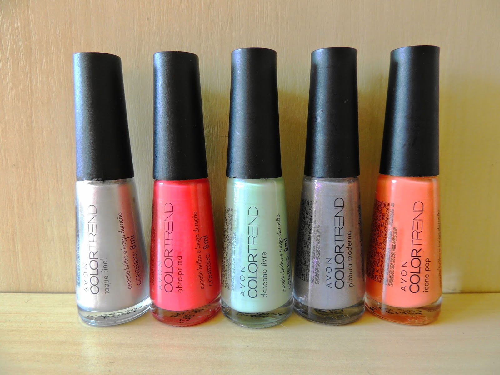 Cia Do Esmalte Esmaltes Da Colecao Pop Art Da Avon Colortrend