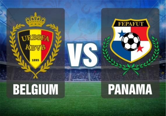 Group G fixture between Belgium and Panama