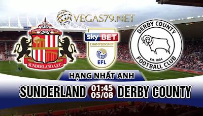 Nhận định, soi kèo nhà cái Sunderland vs Derby County