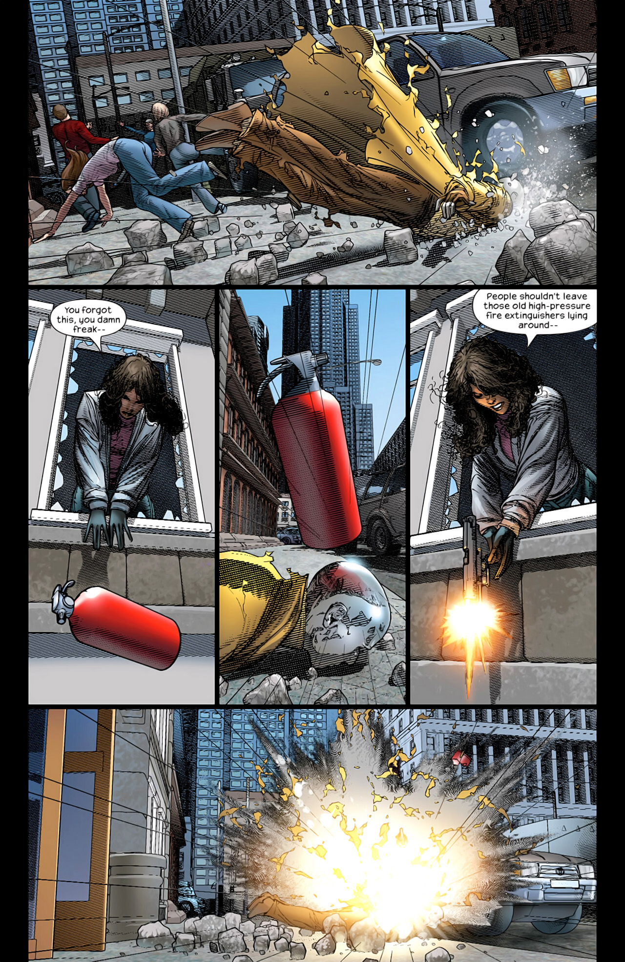 Read online Ultimate Extinction comic -  Issue #2 - 24