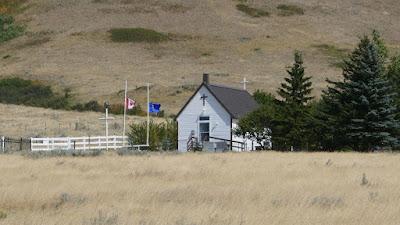 Eagle Butte, Alberta, Cypress Hills, historical, church