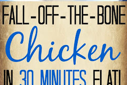 Fall-Off-The-Bone Pressure Cooker Chicken (Ready in 30 Minutes!)