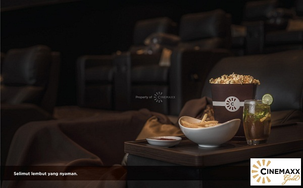 Cinemaxx Gold Selimut Lembut Yang Nyaman