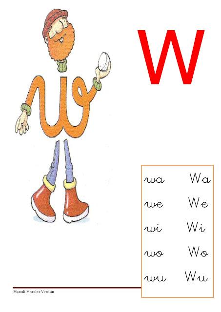 WA WE WI WO WU