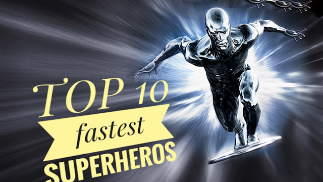 fastest Superheros