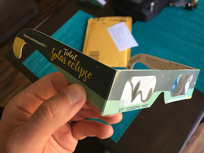 souvenir eclipse glasses custom printed