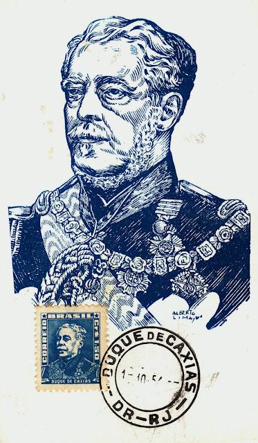 Resultado de imagem para selo de LUIZ ALVES DE LIMA E SILVA