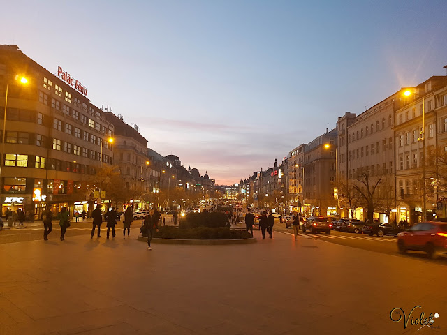 view wenceslas square
