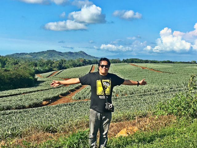 Del Monte Plantation Manolo Fortich Bukidnon. Your trip to Bukidnon is more complete when you a picture of you taken at Del Monte plantation.