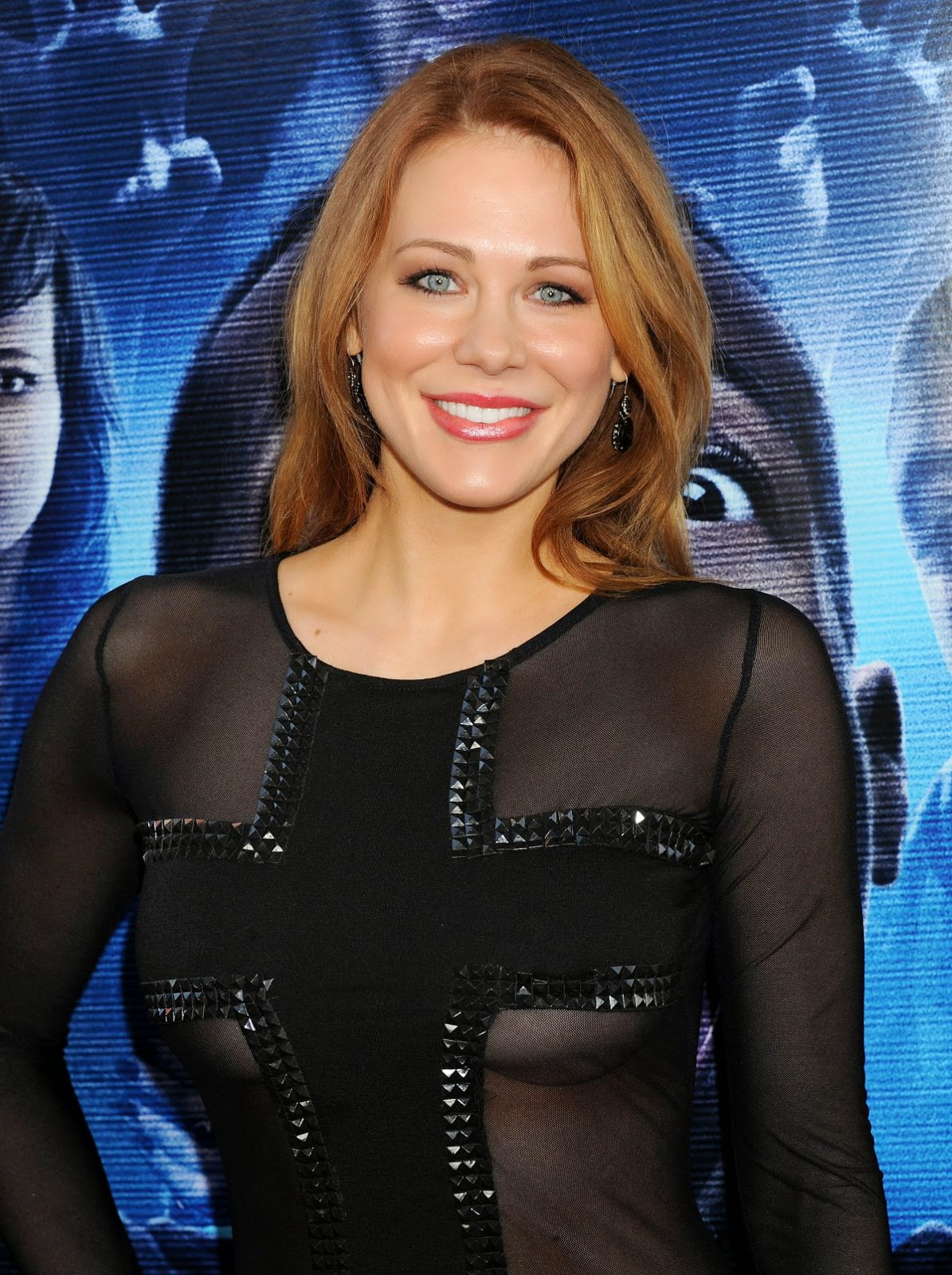 Maitland Ward Wears A Sheer Minidress At The Haunted