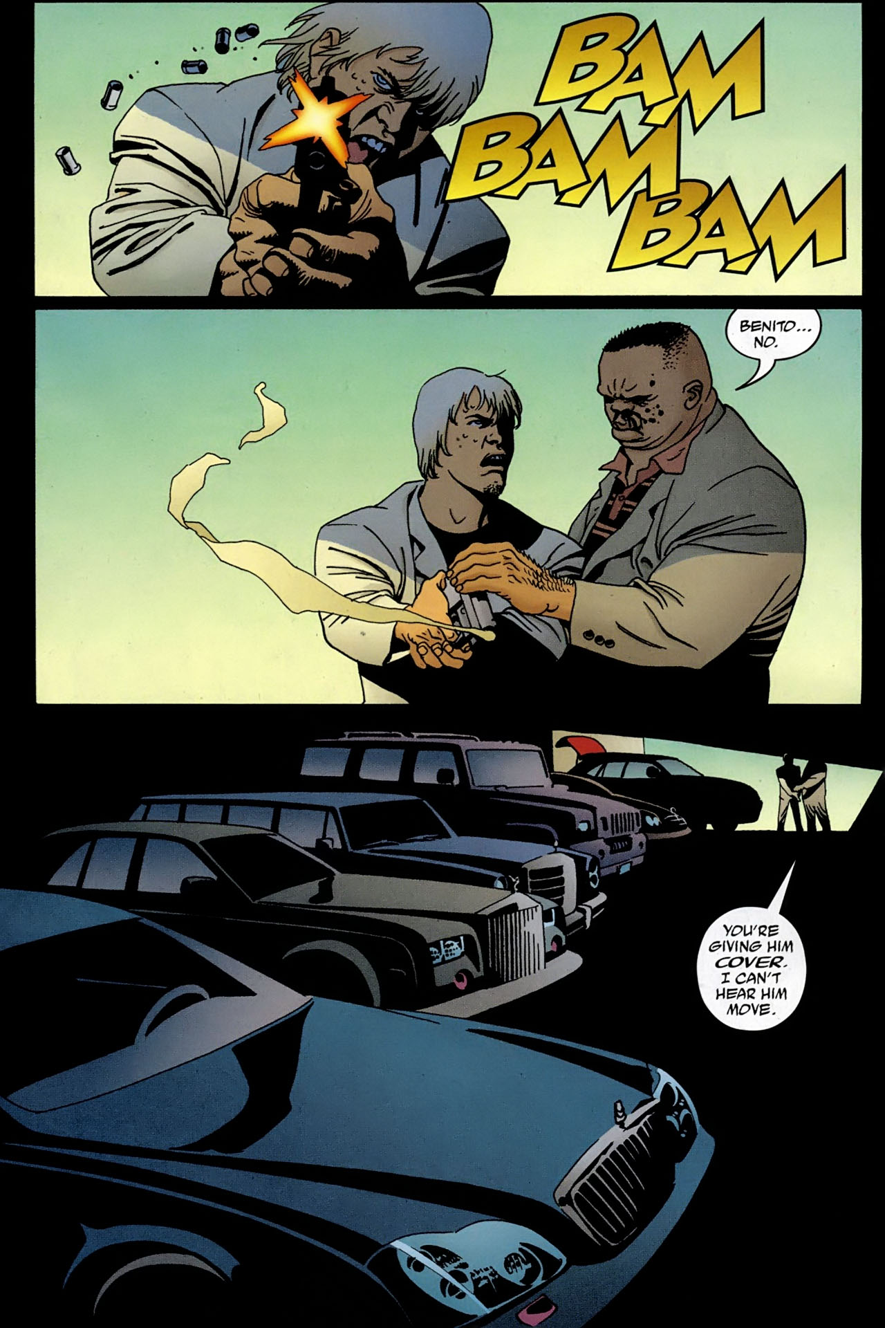 Read online 100 Bullets comic -  Issue #97 - 8