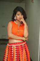 Shubhangi Bant in Orange Lehenga Choli Stunning Beauty ~  Exclusive Celebrities Galleries 063.JPG