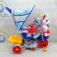 family unicorn sepeda roda tiga suspensi