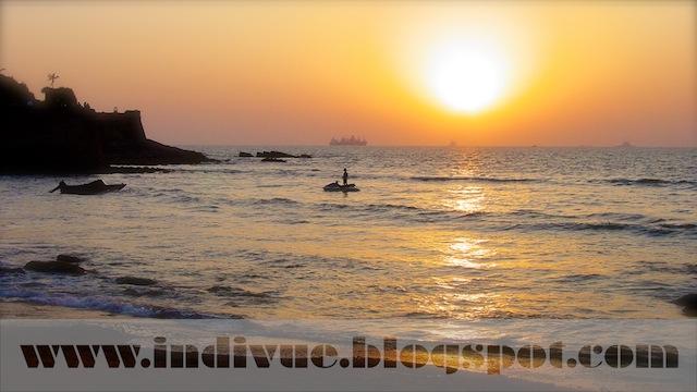 Sinquerim Beach, Goa, Intia