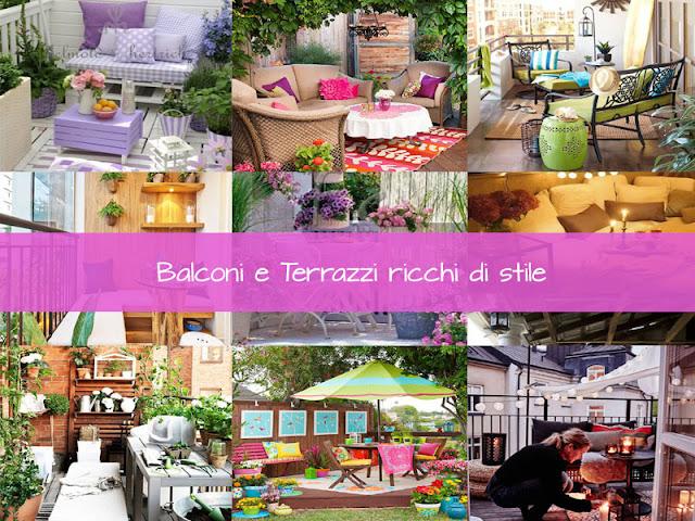 Balconi e terrazzi ricchi di stile kreattivablog - Arredare balconi e terrazzi ...