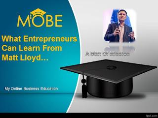 MOBE Matt Lloyd – A Man Of Mission