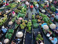 Pasar Terapung, Wisata Unik di Banjarmasin