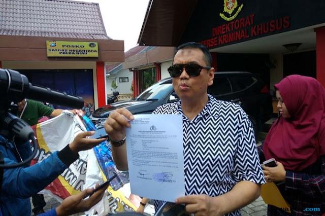 Dapat Pesan Khusus dari Mega, Kapitra Batal Laporkan SBY ke Polda Riau