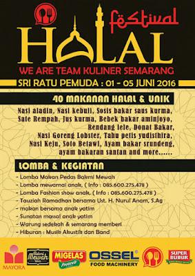 Festival Halal Semarang Kuliner - Sri Ratu Pemuda