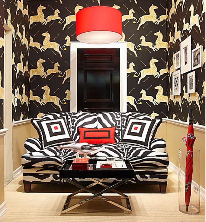 Kitten Vintage: 40s Design - Scalamandre's Zebra