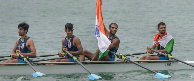 Asian Games 2018: Indian Rowers Team wins gold medal