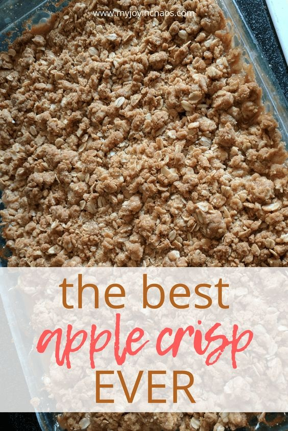 The Best Apple Crisp... Ever