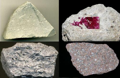 Riolit batuan beku ekstrusif