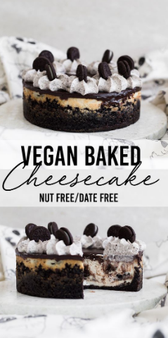 THE ULTIMATE BAKED VEGAN CHEESECAKE