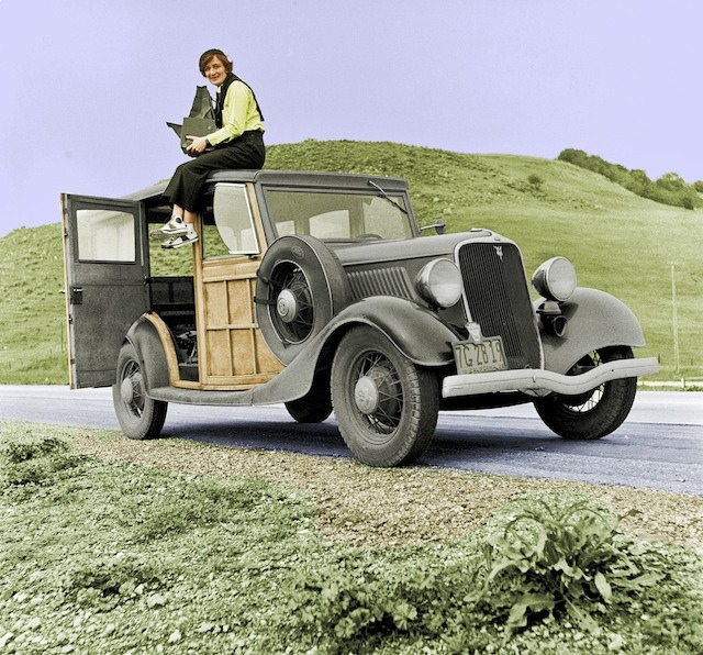 foto dorothea lange pada tahun 1936