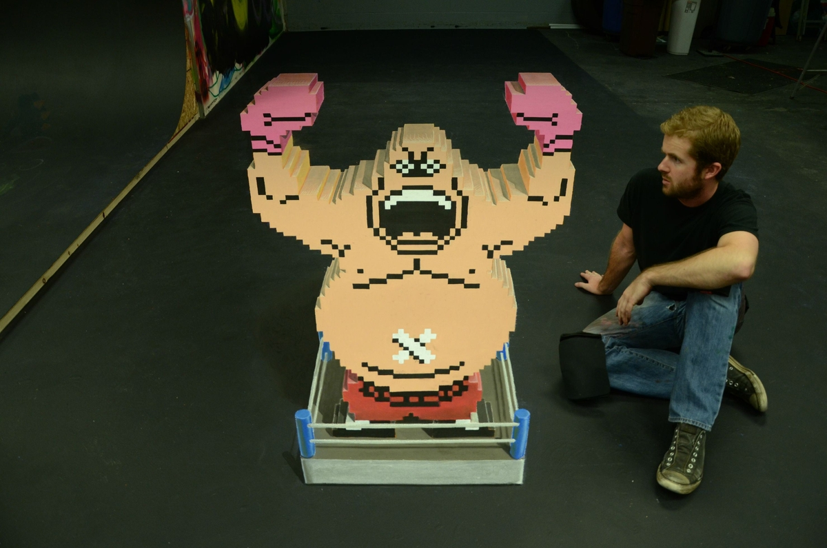 10-King-Hippo-Mike-Tysons-Punch-Out-Chris-Carlson-3D-Street-Art-Drawings-and-Paintings-www-designstack-co