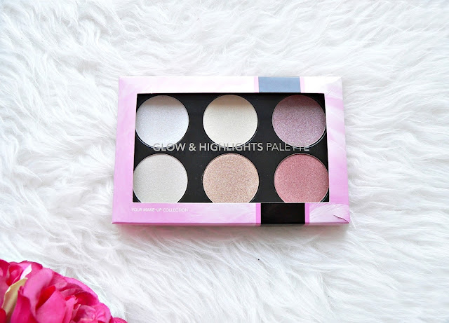 Action-glow-en-highlights-palette-review-2018-action-make-up-review-swatches-highlighter-palette-goedkoop-budget-reviews-action-makeup-beauty