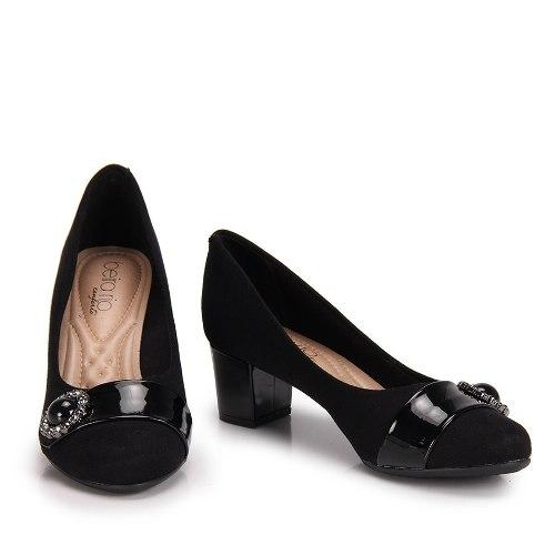 73a9d262 Zapato Mujer Stiletto Taco Bajo 5 Cm Plantilla Acolchada 477 - $ 1.399,00  2018
