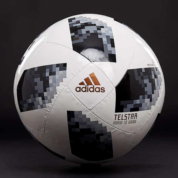 purchase cheap d4fc7 b2716 Insane Adidas Telstar 18 World Cup Jumbo Ball Released - Footy Headlines