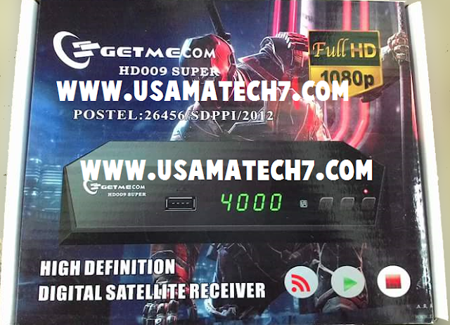 GETMECOM HD009 SUPER RECEIVER AUTO ROLL POWERVU KEY NEW SOFTWARE