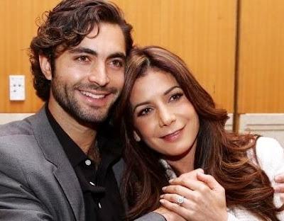 Foto de Patricia Manterola feliz con su pareja
