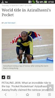 http://www.thestar.com.my/news/nation/2017/04/13/azizulhasni-awang-wins-kieren-in-world-championships-cycling/