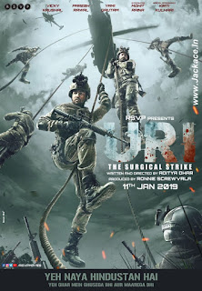 Uri: The Surgical Strike First Look Poster 2