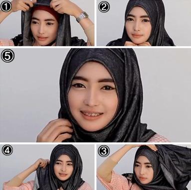 model berhijab terbaru style 3