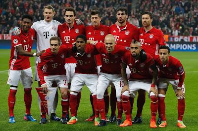 Daftar Skuad Pemain Bayern Munchen 2017-2018