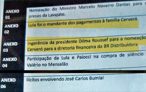 Delcídio Amaral faz delação premiada devastadora para Lula e Dilma