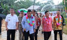 Foto Peresmian 4 Pasar Rakyat di Kabupaten Sekadau
