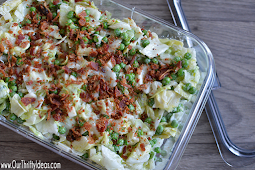 Make Ahead Salad Sarah Salad Recipe #vegetarianRecipe #easyhomemade