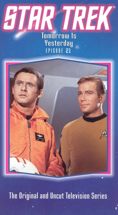 Star Trek: The Original Series - Season 1 Episode 19: Tomorrow Is Yesterday