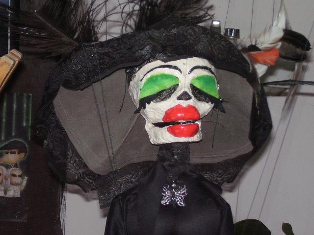 Titere Tips Marioneta Catrina