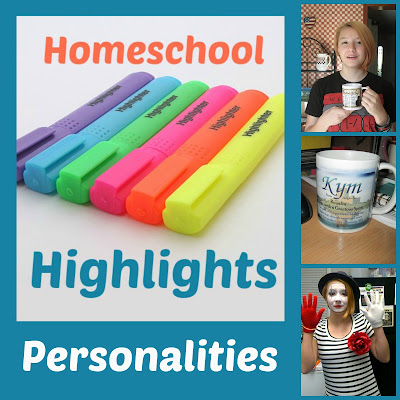 Homeschool Highlights - Personalities  on Homeschool Coffee Break  @ kympossibleblog.blogspot.com - link up your homeschool posts here each week!