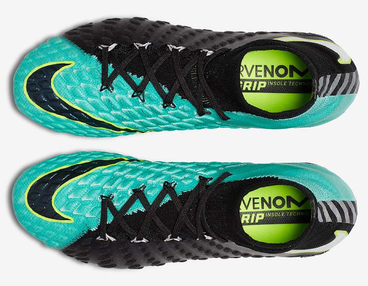 Black   Light Aqua Nike Hypervenom Phantom III Women s Boots ... adbee098b
