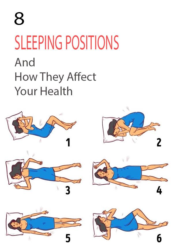 8 Sleeping Positions