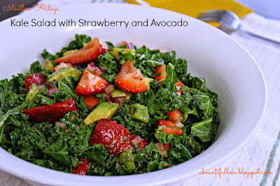 http://www.abountifullove.com/2014/08/kale-salad-with-strawberry-and-avocado.html