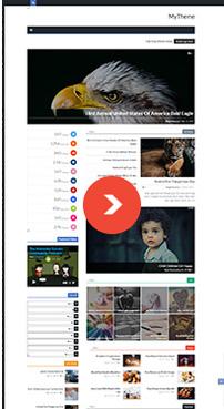 Surface - Responsive Magazine Blogger Theme - 23