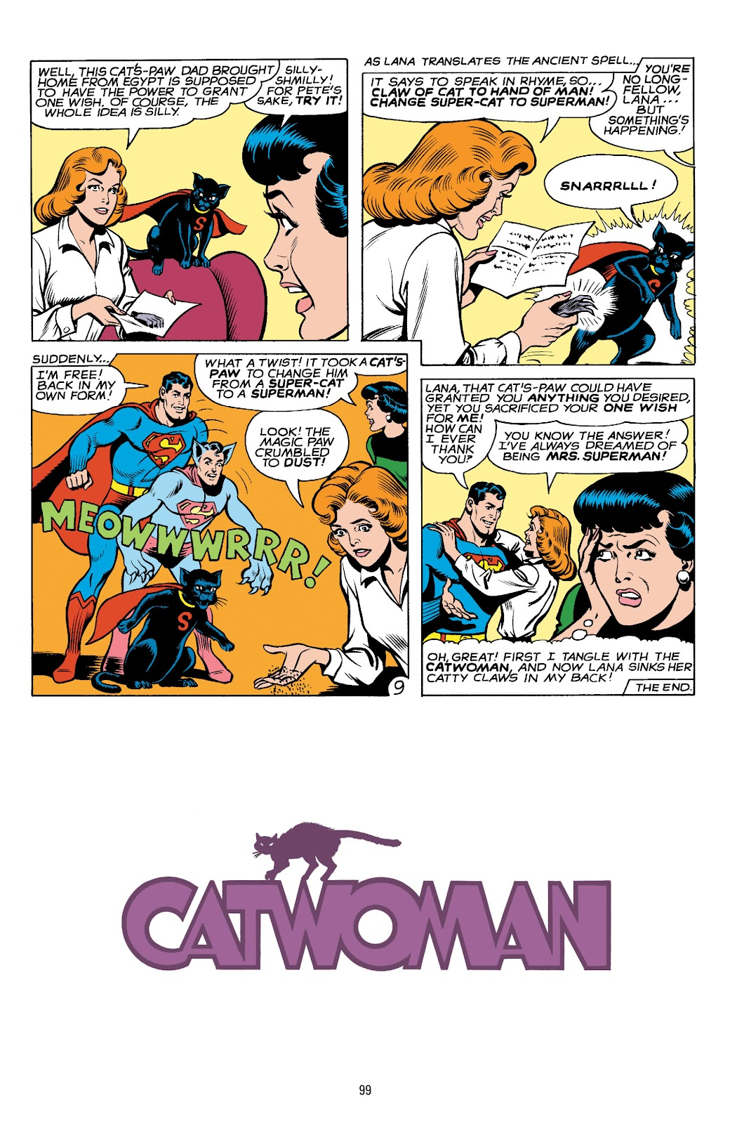 Read online Catwoman: A Celebration of 75 Years comic -  Issue # TPB (Part 2) - 1